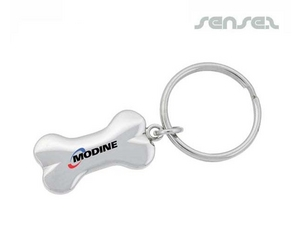 Bone Shaped Keyring