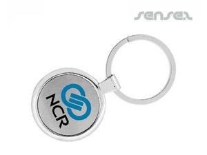 Runde Schlüsselanhänger