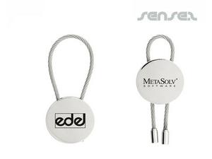 Round Wire Keyring