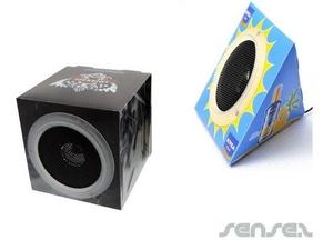 Cardboard MP3 Speaker