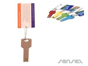 Webkey Businesscard-Schlüsselring