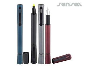 Pen & Highlighter Duo Pen
