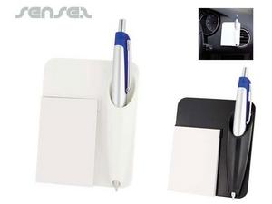 Car Notepad & Pen Set