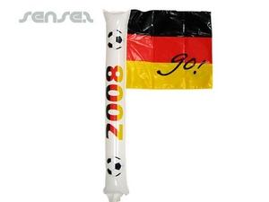 Jubeln Flag-Stick