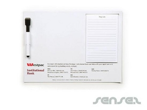 Magnetic Whiteboard With Notepad (A4)