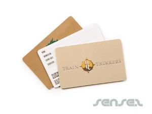 Kunststoff-Mitgliedskarten