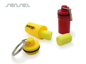 Ear Plugs in Zylinder