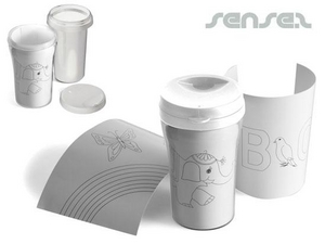 Colour In Thermo Mugs - 250ml