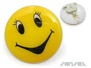 LED-Blinken Button Badges