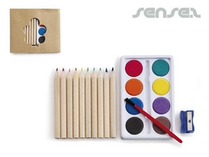 Paint-Sets mit Coloured Pencils