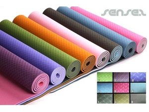 Textured ECO Yoga Mats (Two Tone)