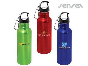 Edelstahl-Wasserflaschen (Coloured & BPA frei)