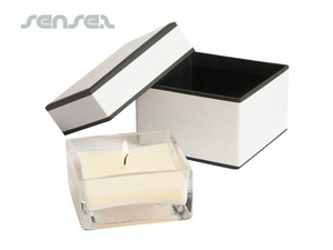 Square Scented Soy Candle (10 x 10cm)