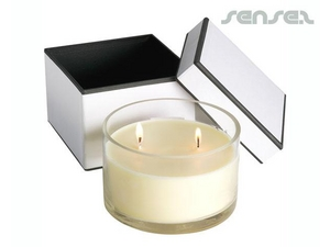 Round Scented Soy Candle (11cm)