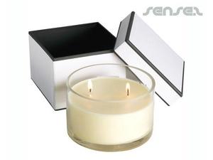 Runde Scented Soja-Kerzen (11cm)