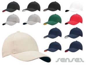 Kontrast Farb Baseball Caps