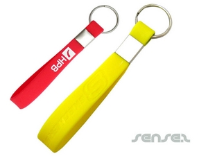 Silikon-Armband Schlüsselanhänger