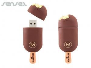 Rubber PVC Custom USB Stick (1GB)
