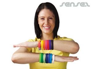 Gedruckt Silikon-Armbänder