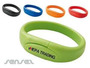 Silicone USB Wristbands