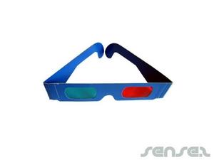 3D Paper Brille