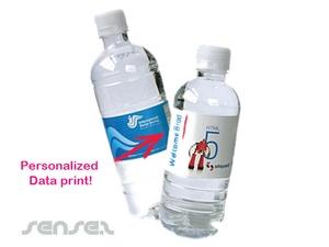 Personalised Spring Water bottles (600ml)
