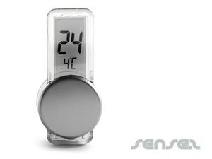 Thermometer mit Saugnapf