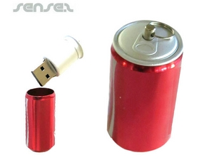 Can shaped USB Stick (1GB)