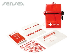 Waterproof First Aid Kits (15pc)