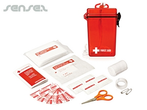 Waterproof First Aid Kits (21pc)