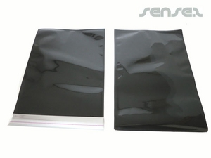 Stock A5 Size Black Foil Envelopes