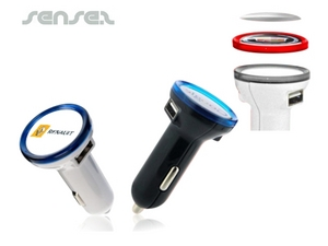 Rund USB Car Charger