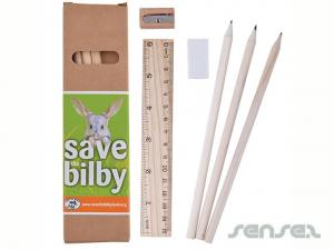 Stationery Sets in Cardboard Boxes