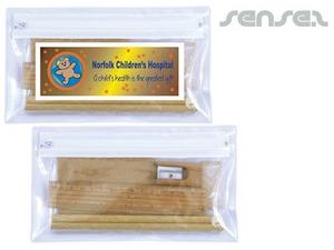 Bamboo Briefpapier-Sets im Mäppchen