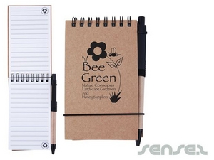 Stone Paper Notepads with Pen A6 (Ultimate ECO)