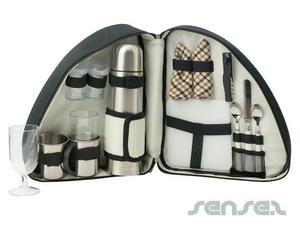 Kaffee Wein & Käse-Set Tasche