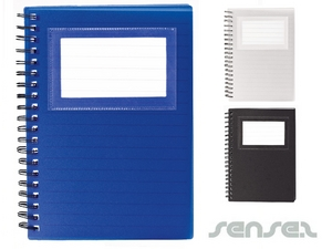 Business Card Holder Notepad