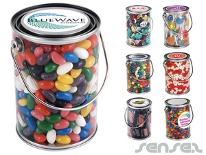 1L Drum Filled with Lollies