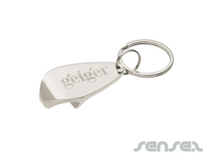 Metall Flaschenöffner Schlüsselanhänger