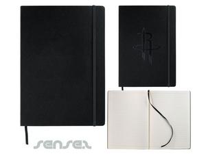 Leder-Art-Schwarz Notebook (A4)
