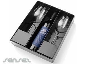 Spieglau Glas und Wein-Geschenk-Set