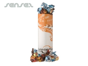 Chocolate Pralines Gift Tube