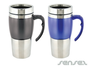 Stainless Thermo Mugs
