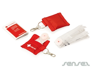 CPR Mask On Keyrings
