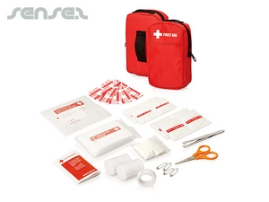 Belt Pouch First Aid Kits (30pc)