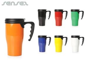 Vibrant Colour Plastic Thermo  Mug (475ml)