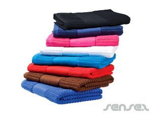 Gerippte Handtücher