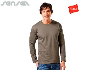 Mens Heavy Long Sleeve T-Shirt