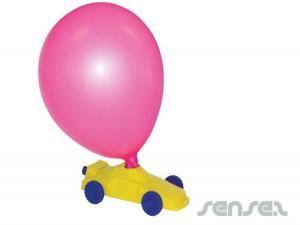 CO2-Emissionen Ballon Racers