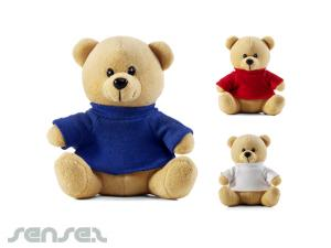 Teddybären in T-Shirts